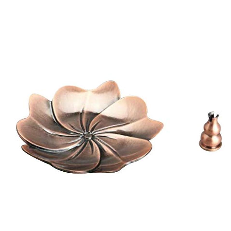 森林フェローシップスポーツFidgetGear Chinese Gourd Shape Incense Burner Holder Censer Plate For Stick&Cone Red#6