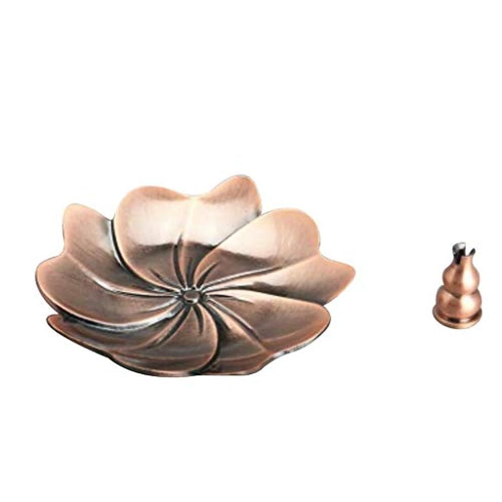 畝間好戦的な海外でFidgetGear Chinese Gourd Shape Incense Burner Holder Censer Plate For Stick&Cone Red#6
