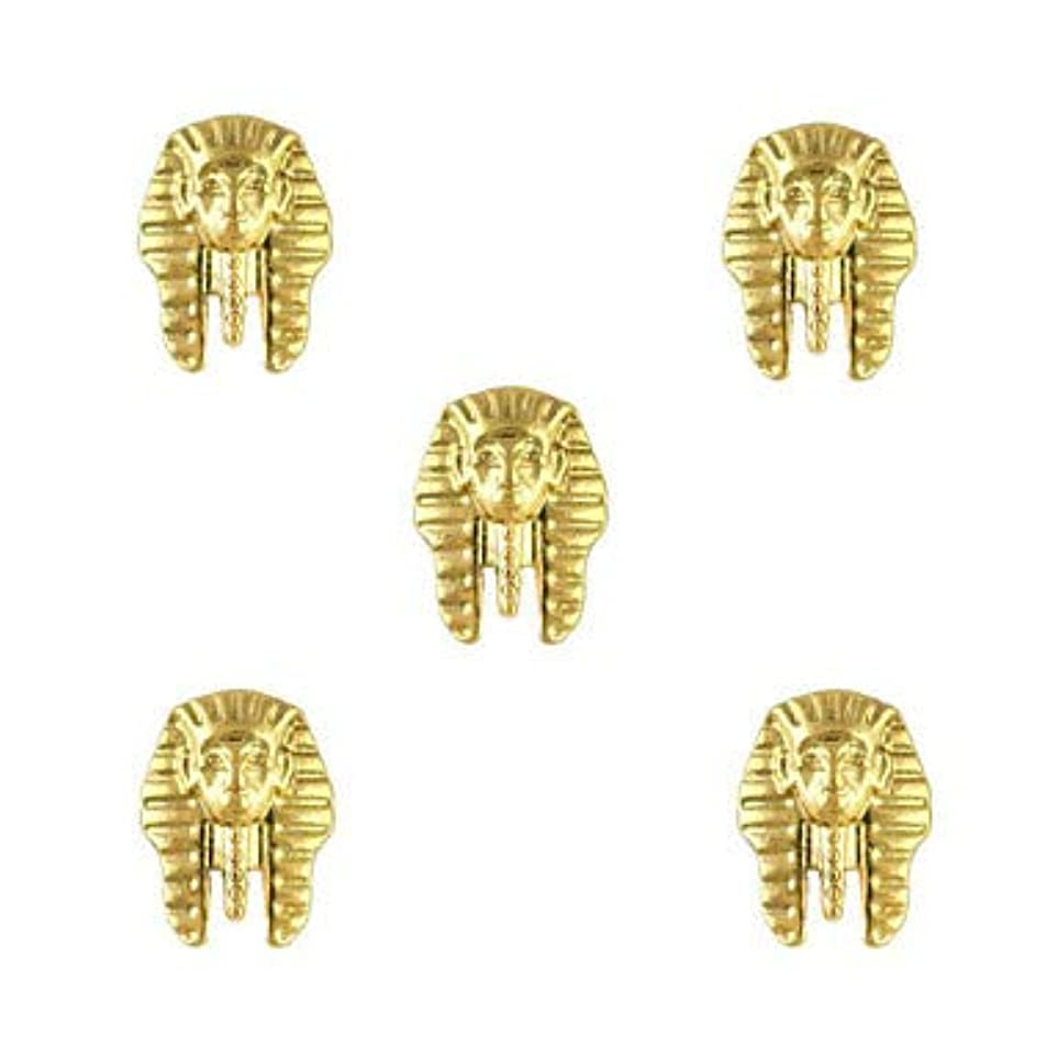 船尾疼痛ピニオン指のつま先のための金属のエジプトパターンのマニキュアの宝石類の宝石類
