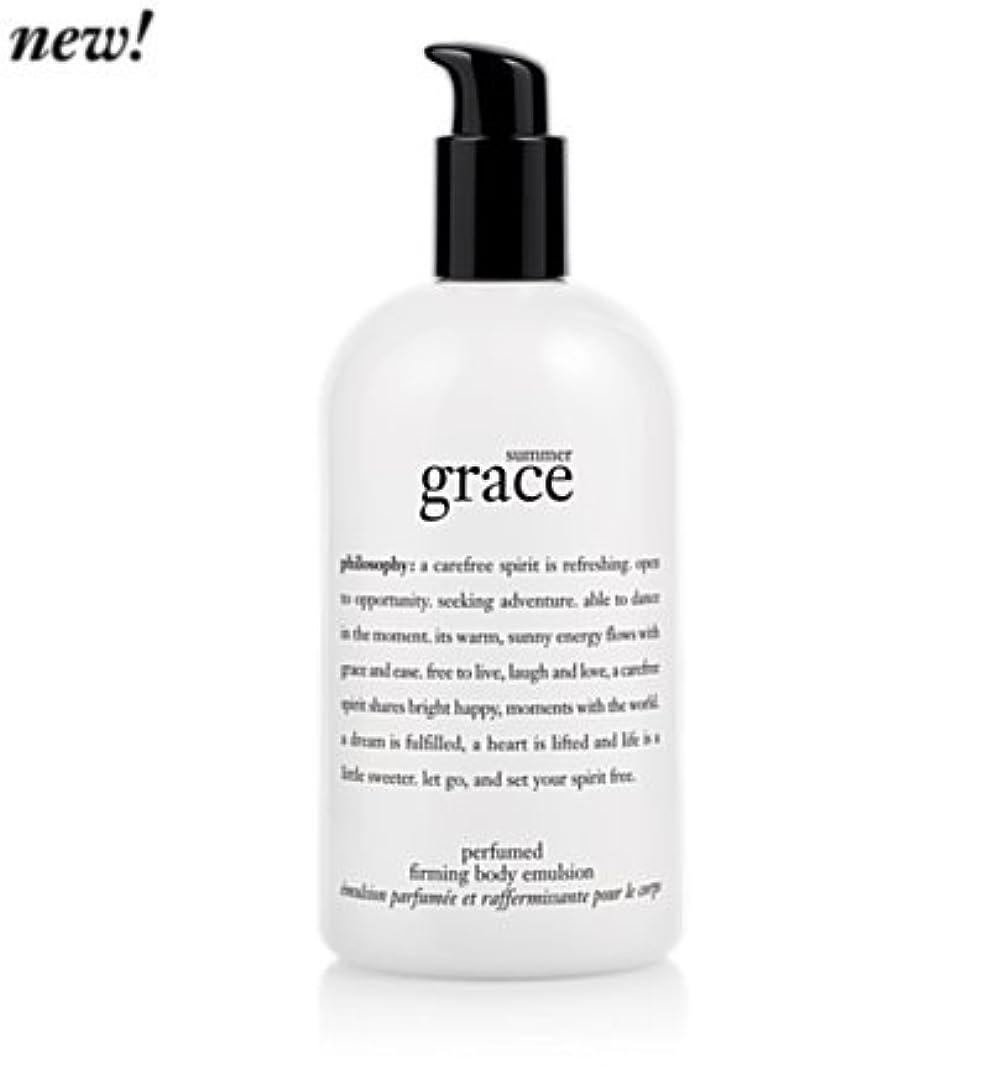 頬キャプションポール'summer grace (サマーグレイス) 16.0 oz (480ml) perfumed firming body emulsion for Women