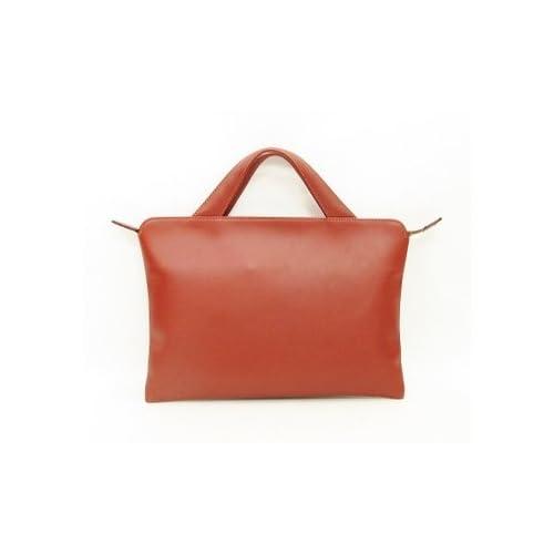 ブリーフケース マチなし トライオン TRION A114D 本革鞄 ビジネス B5 バッグ レザー コンパクト 商品番号 A114(D) BRANDY
