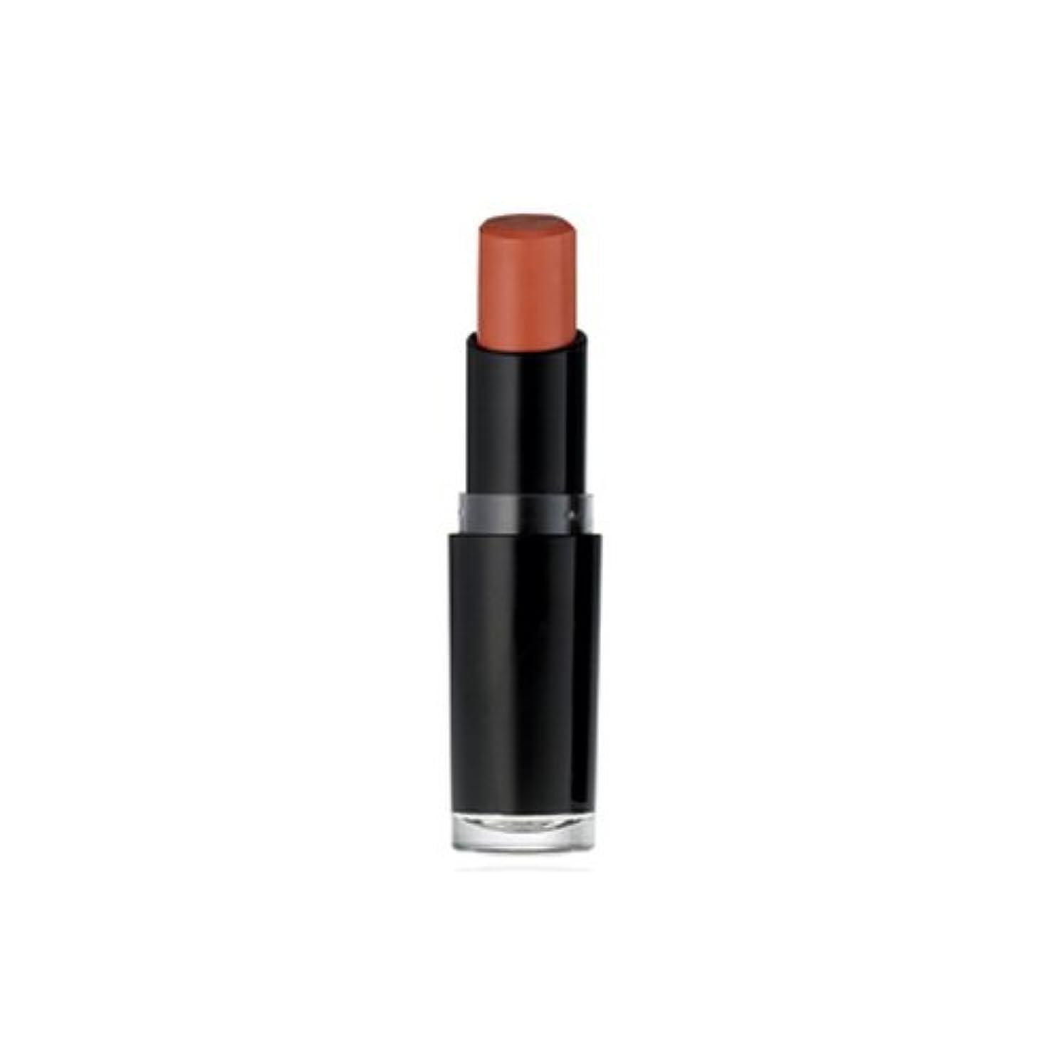 危険にさらされているつかむまともなWET N WILD Mega Last Matte Lip Cover - Just Peachy (並行輸入品)