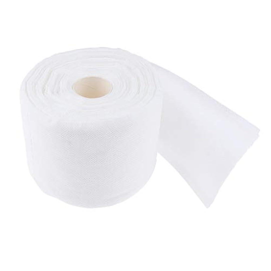 阻害する影のあるミニ使い捨ての柔らかいコットンタオルクリーニング拭き取り面ファスクロスホームサロンティッシュロール
