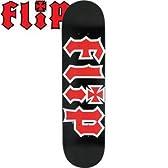FLIP フリップ FLIP スケボー デッキ 7.75 x 31.63 Team HKD black DECK ブラック NO50