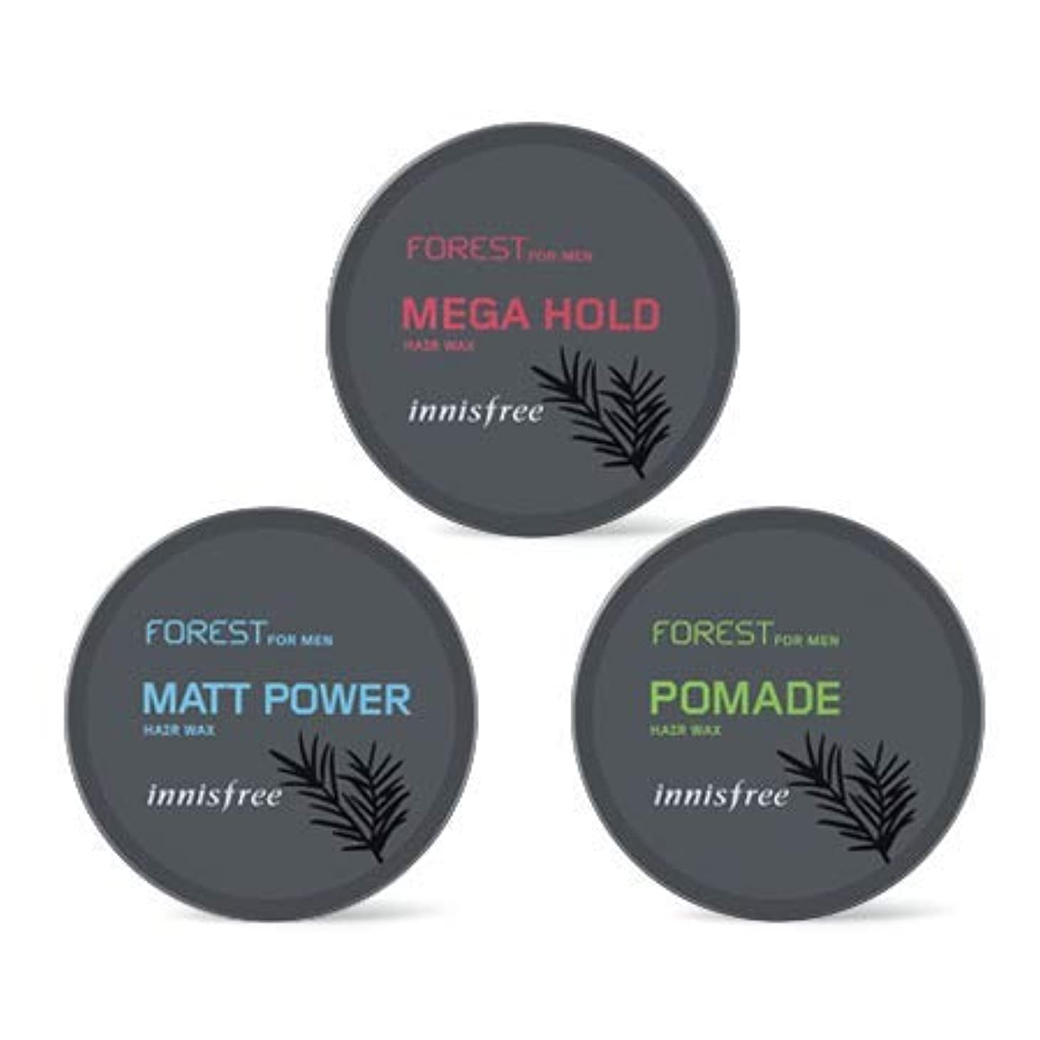 [イニスフリー.INNISFREE](公式)フォレストフォアマンヘアワックス(3種)/ Forest For Men Hair Wax(60G、3 kind) (# mega hold)