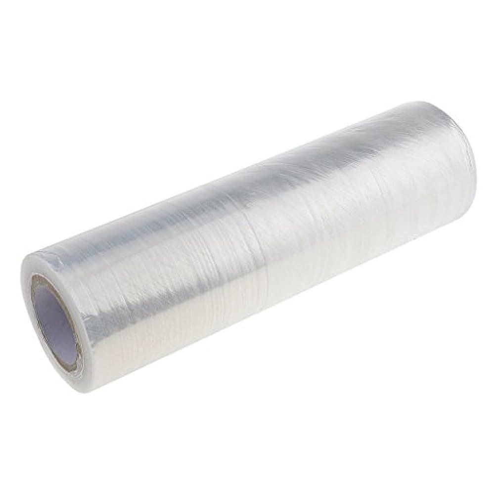 恐ろしい理解経度ヘアケアラップ プラスチックラップ 美容用ラップ 髪用ラップ ボディラップ 1ロール