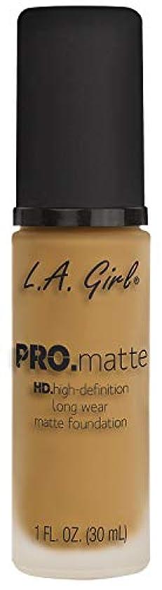 制裁軽蔑する懸念L.A. GIRL Pro Matte Foundation - Soft Beige (並行輸入品)