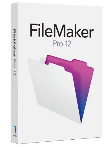 FileMaker Pro 12 Single User License H6316J/A