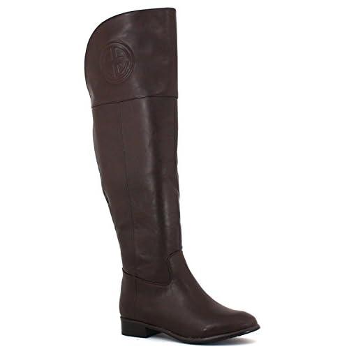 Pierre Dumas Women's Emereson 21 Brown Synthetic Boots 6 B(M) US [並行輸入品]
