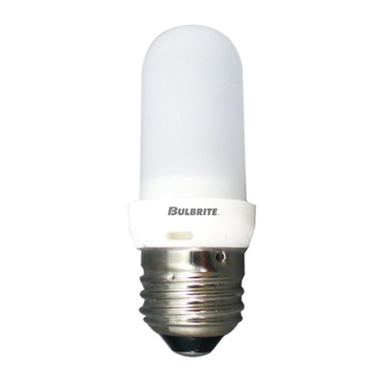 BULBRITE 2重管型ハロゲンランプ E26口金 フロスト 100W Q100FREDT(旧岩崎EYE JT120V100W/E3.F代替品)