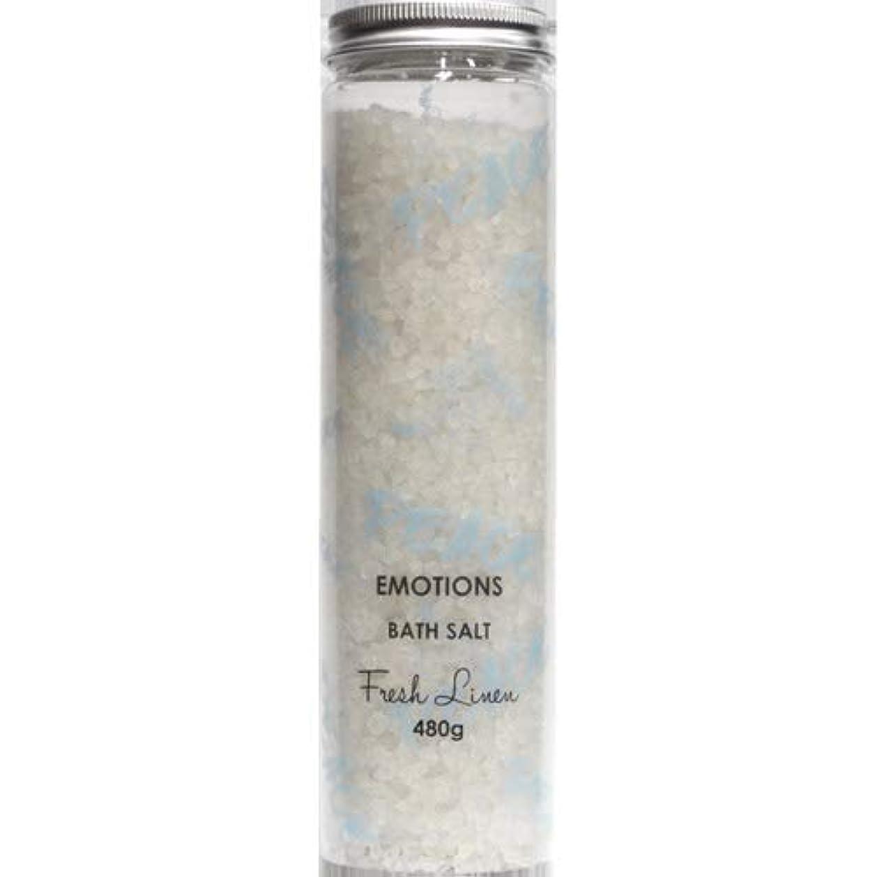 専門化する安西急いで三和トレーディング EMOTIONS エモーション Fragranced Bath Salts バスソルト Peace ピース(Fresh Linen フレッシュリネン)