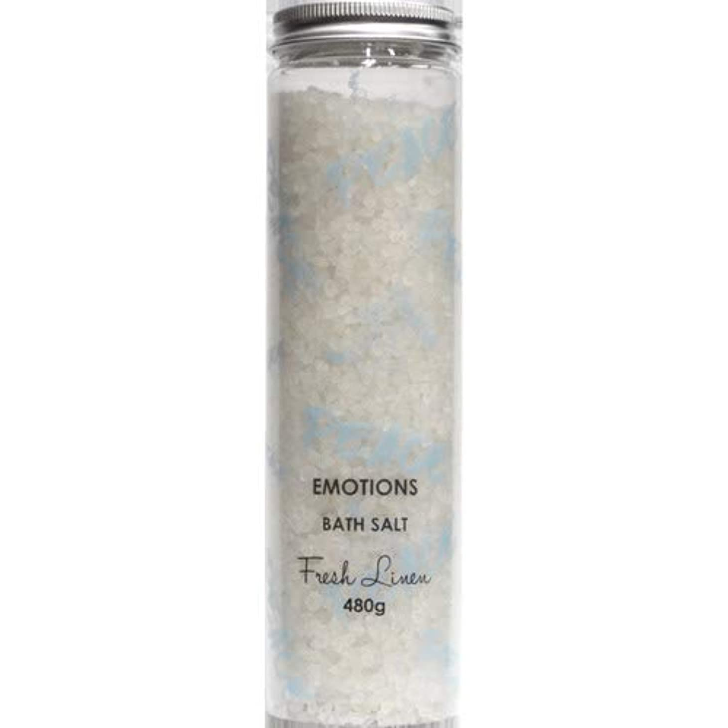 寛大なフラフープ再び三和トレーディング EMOTIONS エモーション Fragranced Bath Salts バスソルト Peace ピース(Fresh Linen フレッシュリネン)