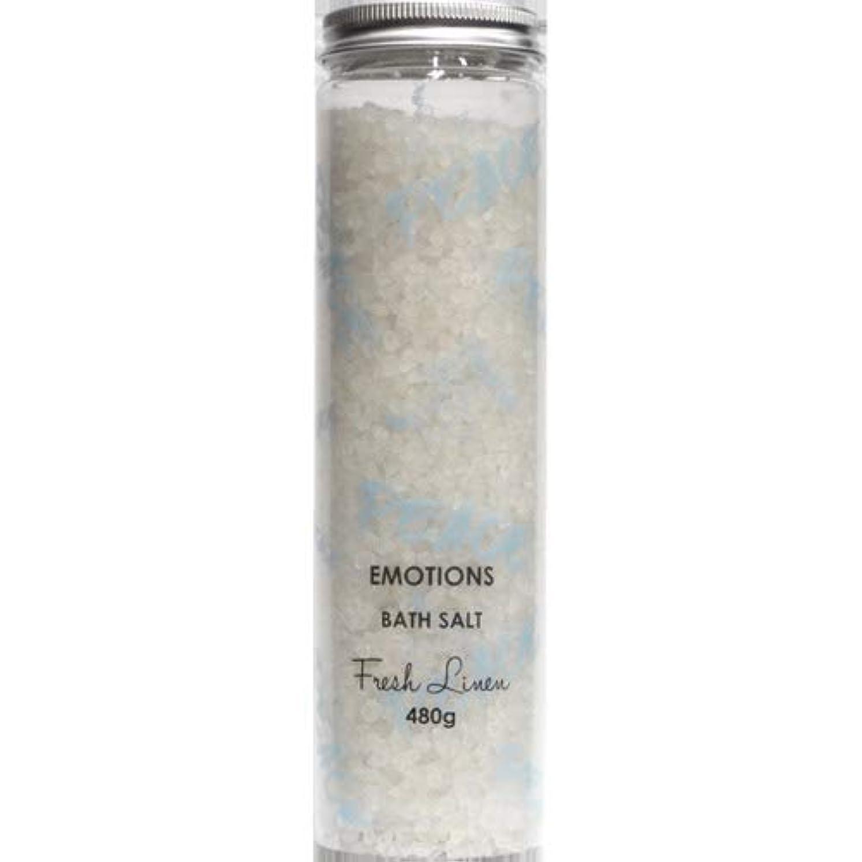 主セイはさておきポンプ三和トレーディング EMOTIONS エモーション Fragranced Bath Salts バスソルト Peace ピース(Fresh Linen フレッシュリネン)