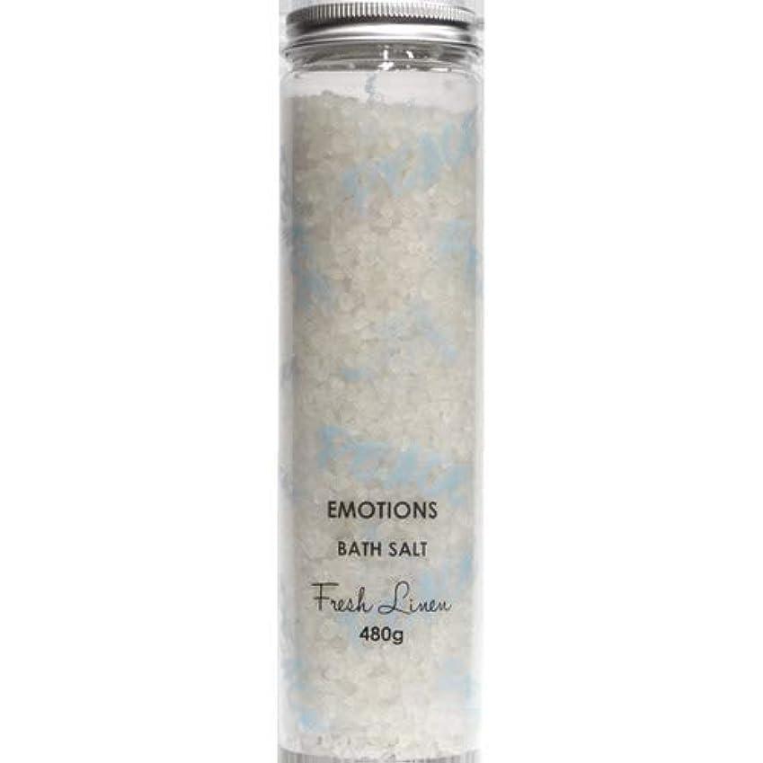運ぶ魂同盟三和トレーディング EMOTIONS エモーション Fragranced Bath Salts バスソルト Peace ピース(Fresh Linen フレッシュリネン)
