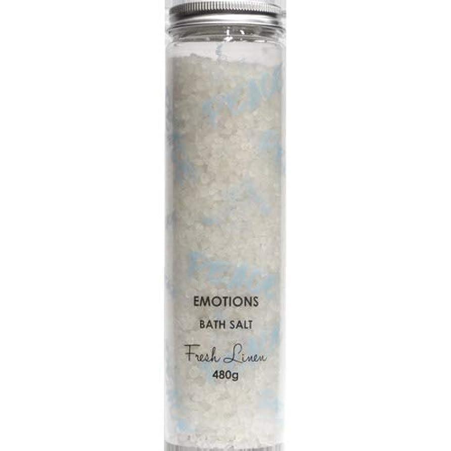 沿って自明驚EMOTIONS エモーション Fragranced Bath Salts バスソルト Peace ピース(Fresh Linen フレッシュリネン)
