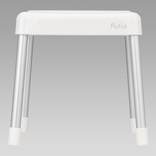 Rufca 風呂いす 高さ28cm ホワイト ( 風呂椅子 バスチェア )
