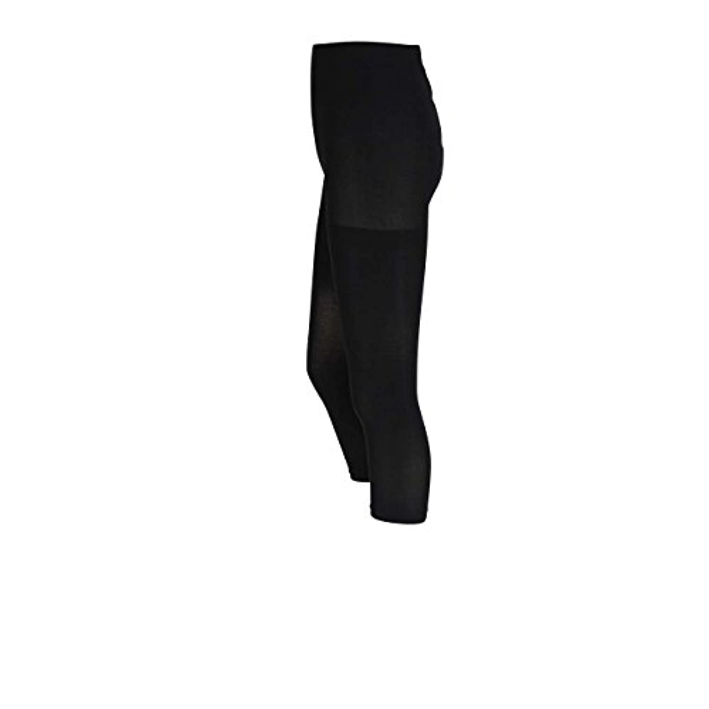 ローズマダム 漆黒ブラック 40デニール 7分丈マタニティレギンス 111-1557-01