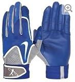 NIKE 野球用品 Nike SwingmanバッティンググローブYouth Smallブルー/グレー