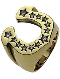 【セノーテ】 cenote r7006 15号 【ブラスアクセサリー リング・指輪】 真鍮 ホースシュー 馬蹄リング 幸運のモチーフ メンズ