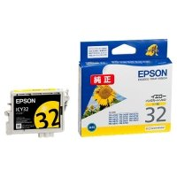 EPSON インクカートリッジ イエロー ICY32 1個