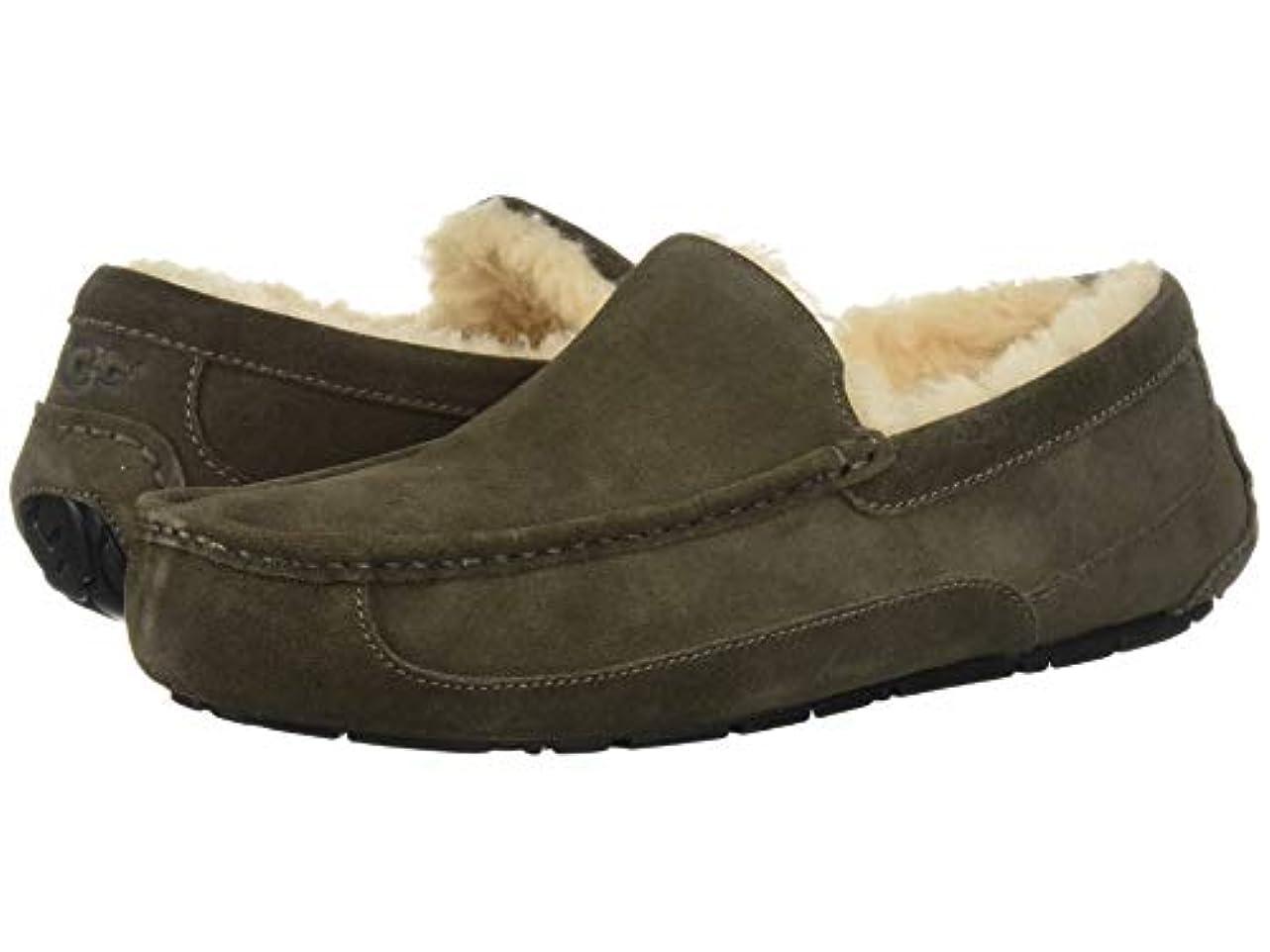 最大起訴する略奪[UGG(アグ)] メンズローファー?スリッポン?靴 Ascot Charcoal 18 (36cm) D - Medium