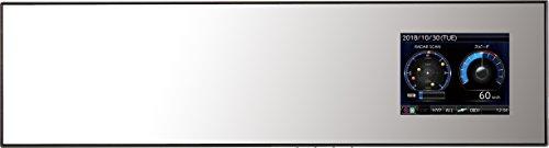 コムテック レーダー探知機 ZERO 505M 無料データ更新 移動式オービス/小型オービス/ゾーン30対応 ミラー型...