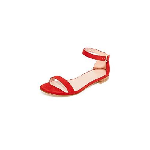 STUART WEITZMAN[スチュワートワイツマン] レディース サンダル Nudist Flat Sandals Red [並行輸入品]