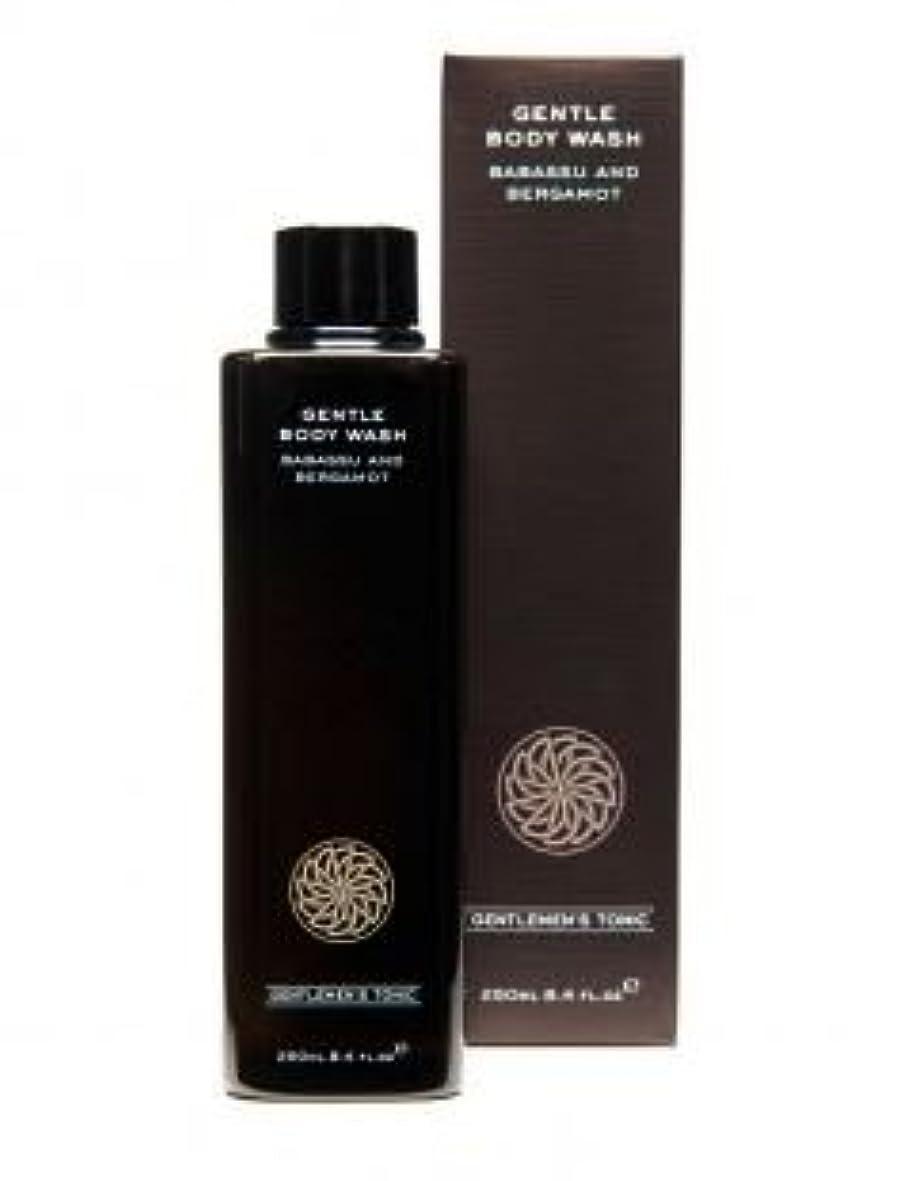 西部最大限個人的なGentlemen's Tonic ジェントルメンズトニック Gentle Body Wash (ジェントルボディウォッシュ) 250ml