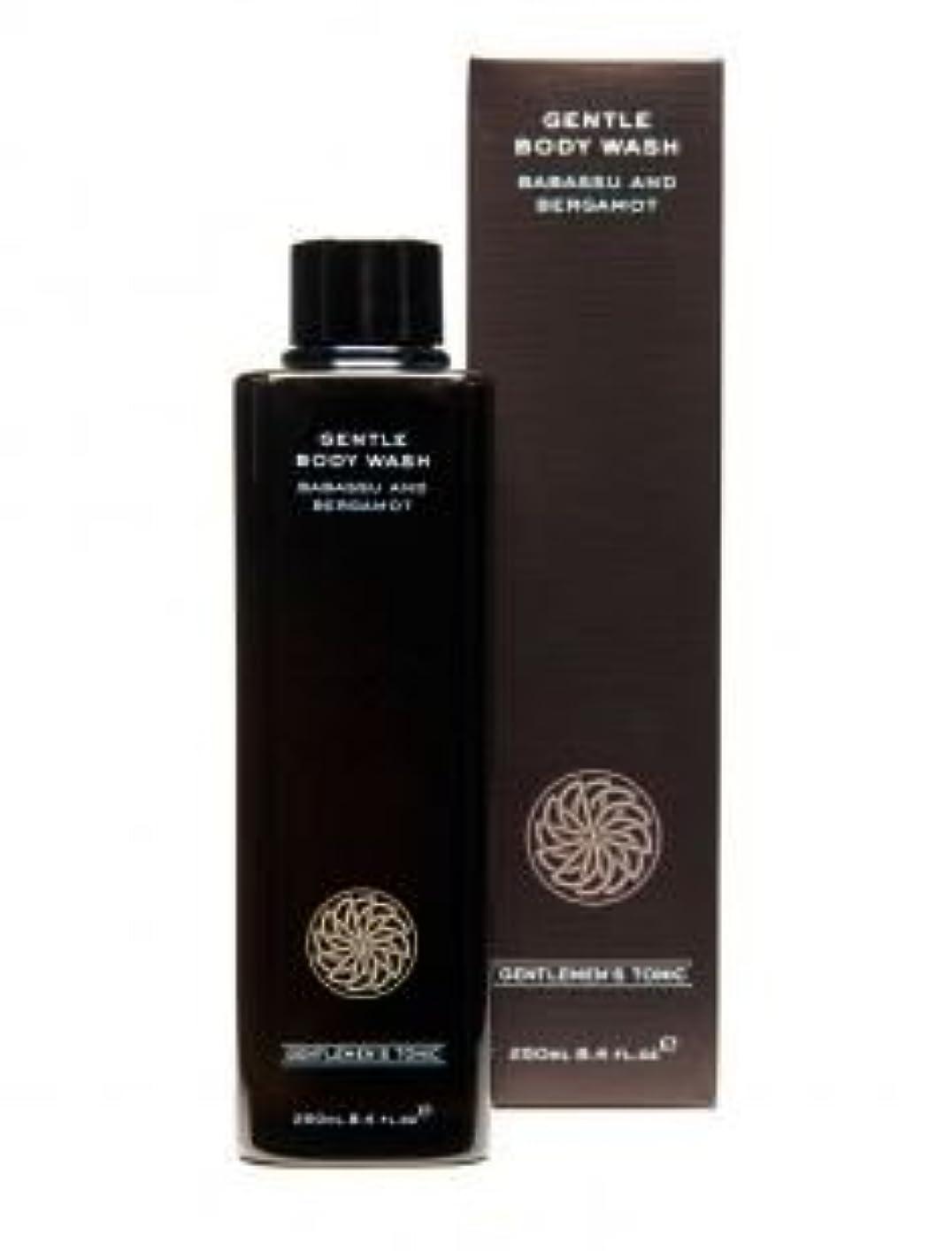 剥離ムスシャーGentlemen's Tonic ジェントルメンズトニック Gentle Body Wash (ジェントルボディウォッシュ) 250ml