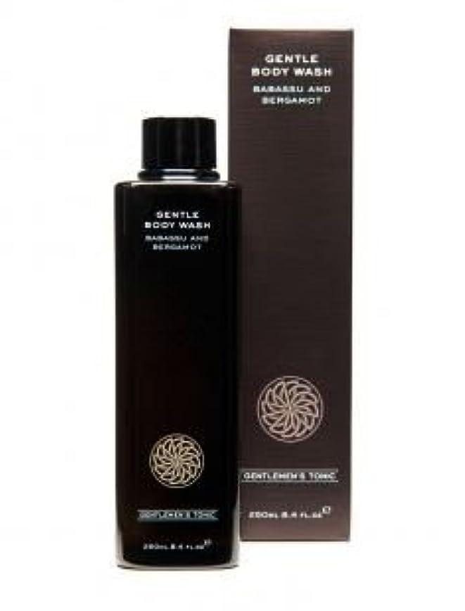 かる記憶廃棄するGentlemen's Tonic ジェントルメンズトニック Gentle Body Wash (ジェントルボディウォッシュ) 250ml