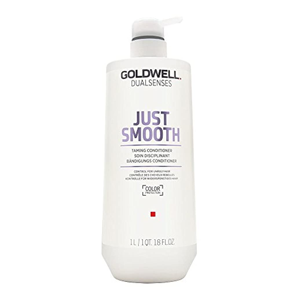 キャンドル繁栄文庫本Goldwell Dualsenses Just Smooth Taming Conditioner 1000ml
