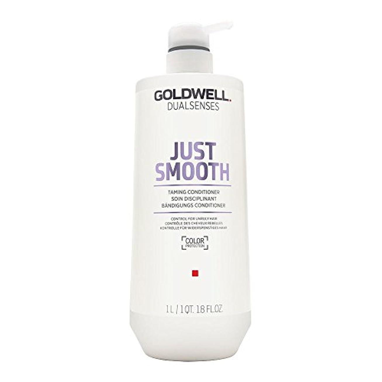 謝るフルート蛾Goldwell Dualsenses Just Smooth Taming Conditioner 1000ml