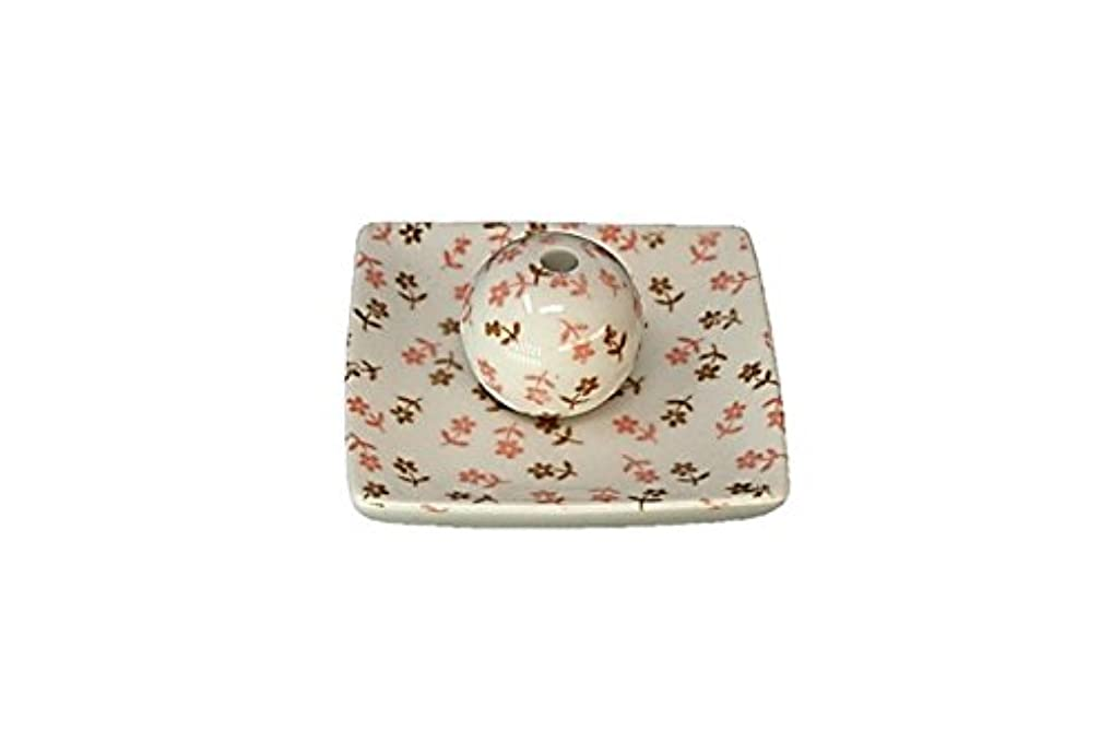 マニフェスト聖歌メルボルンミニフラワー 小角皿 お香立て 陶器 ACSWEBSHOPオリジナル