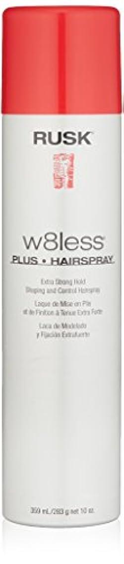 ジャンクゲインセイ地殻Rusk W8Less Plus Hairspray 250 g (並行輸入品)