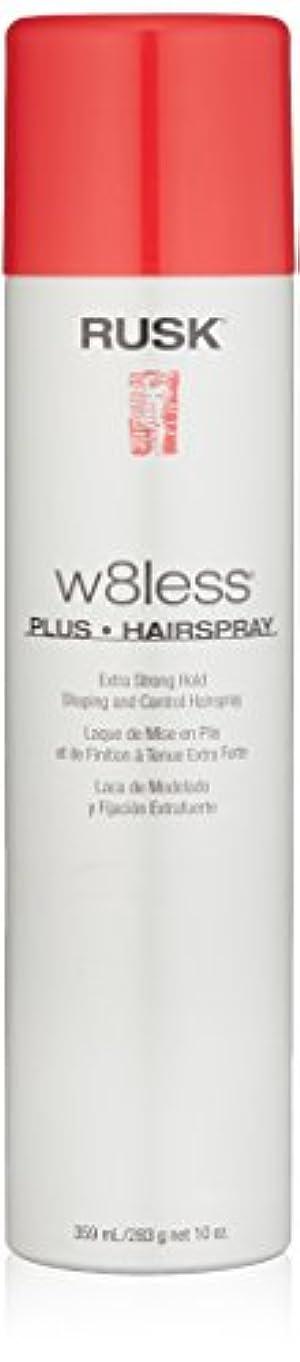 回転するる目指すRusk W8Less Plus Hairspray 250 g (並行輸入品)