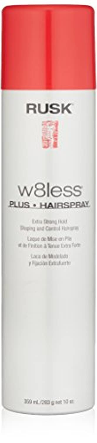 急性物理学者素晴らしいですRusk W8Less Plus Hairspray 250 g (並行輸入品)
