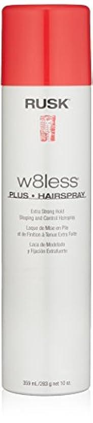 文庫本パーティー部分Rusk W8Less Plus Hairspray 250 g (並行輸入品)