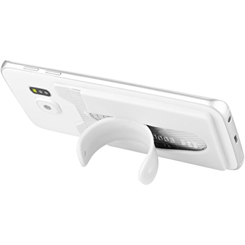 (ブレット) Bullet シリコン スマートフォン ウォレット スタンド付き 携帯アクセサリー