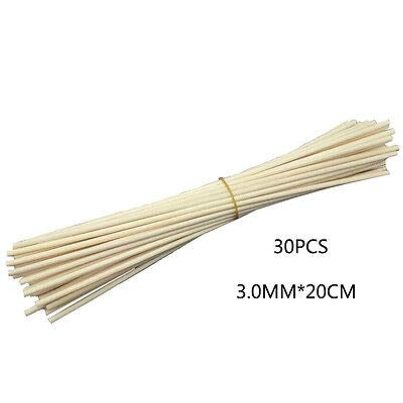 メジャー滑りやすい略語FidgetGear 30Pcs/100Pcs Reed Fragrance Oil Diffuser Rattan Sticks Aroma Rattan Wooden 30 Pcs