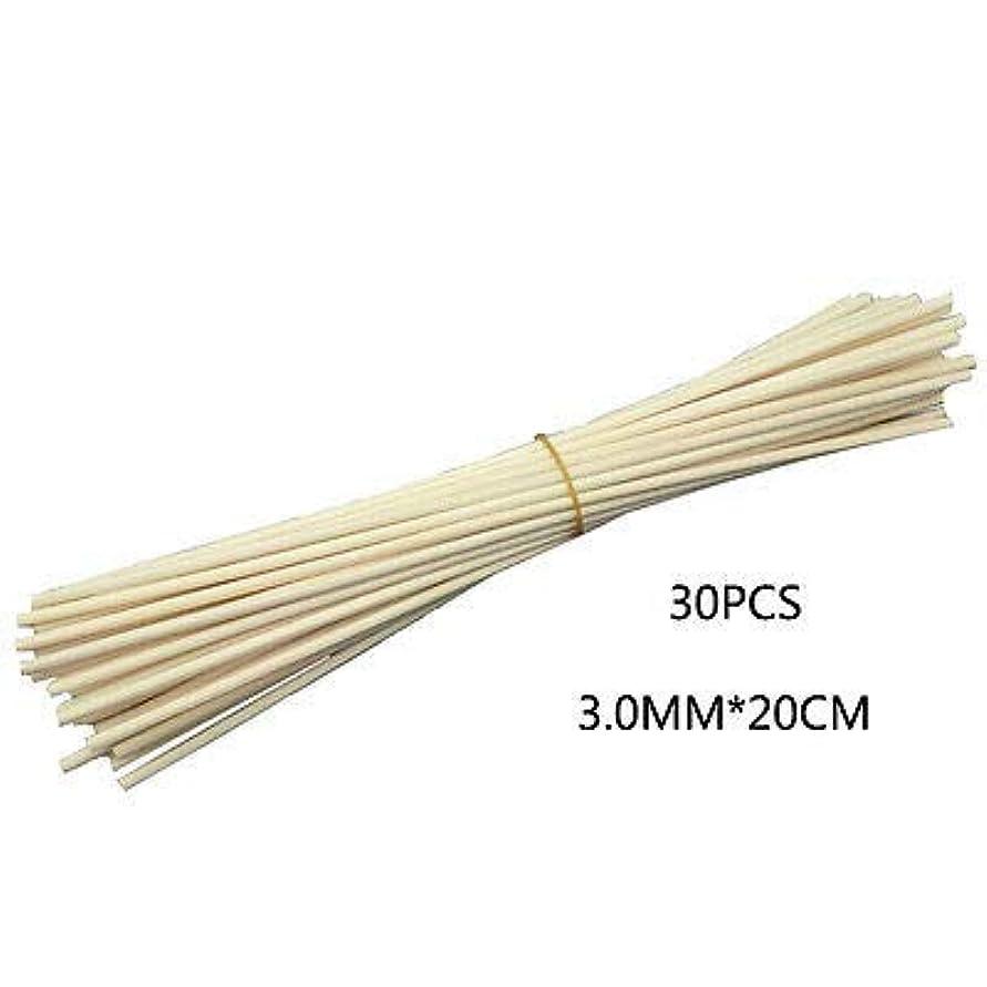 レッスン単なる熟考するFidgetGear 30Pcs/100Pcs Reed Fragrance Oil Diffuser Rattan Sticks Aroma Rattan Wooden 30 Pcs