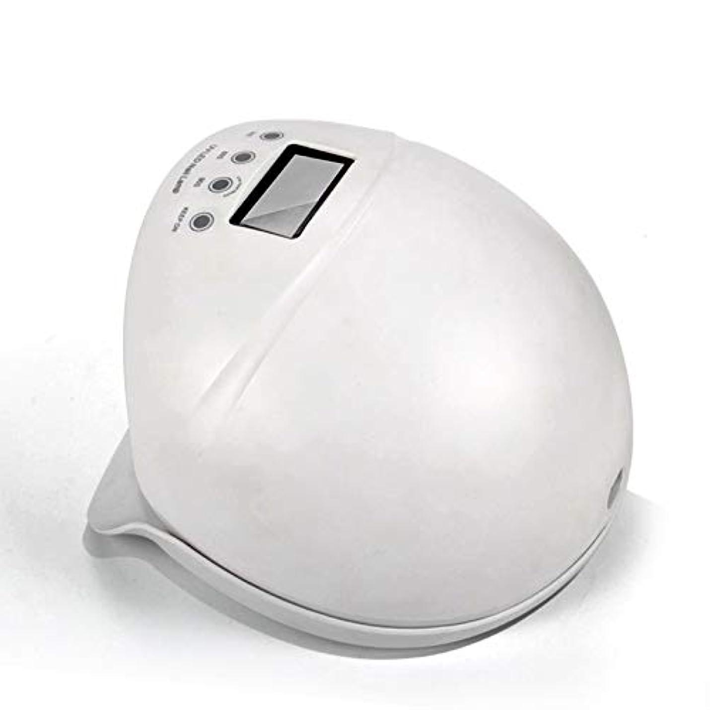 レビュー褐色想定するネイルライト50ワットuv ledネイルドライヤー無痛硬化ランプ付き自動誘導ledディスプレイ3タイマーセットネイルとtoenailジェルポリッシュ