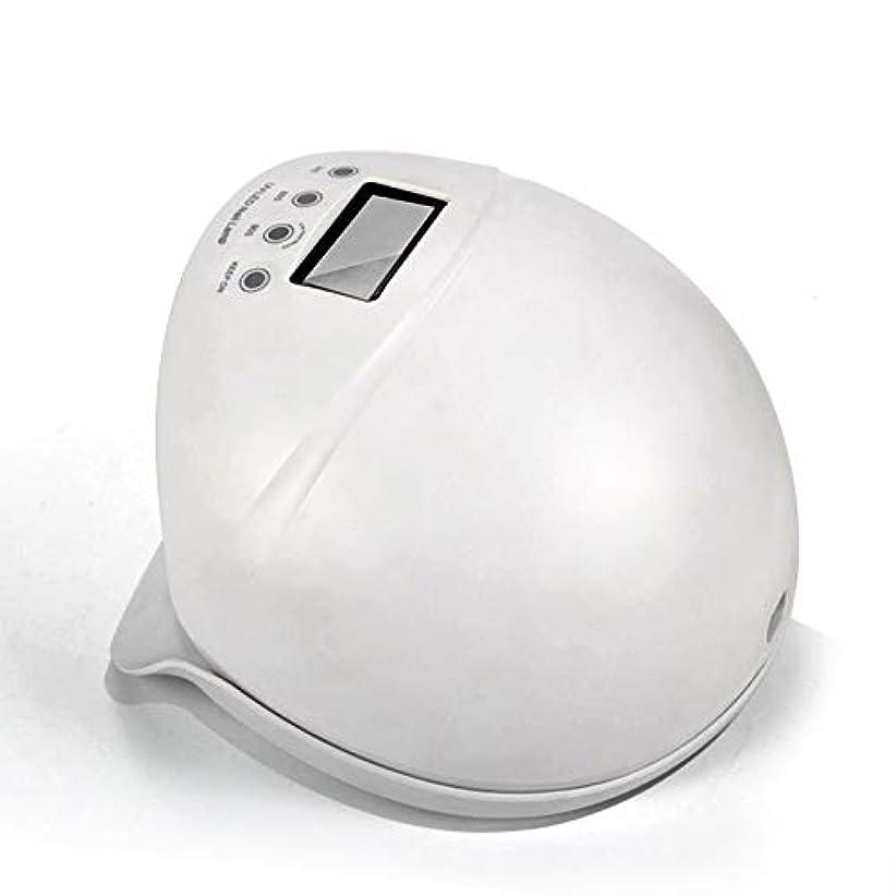 投獄ケープ無心ネイルライト50ワットuv ledネイルドライヤー無痛硬化ランプ付き自動誘導ledディスプレイ3タイマーセットネイルとtoenailジェルポリッシュ