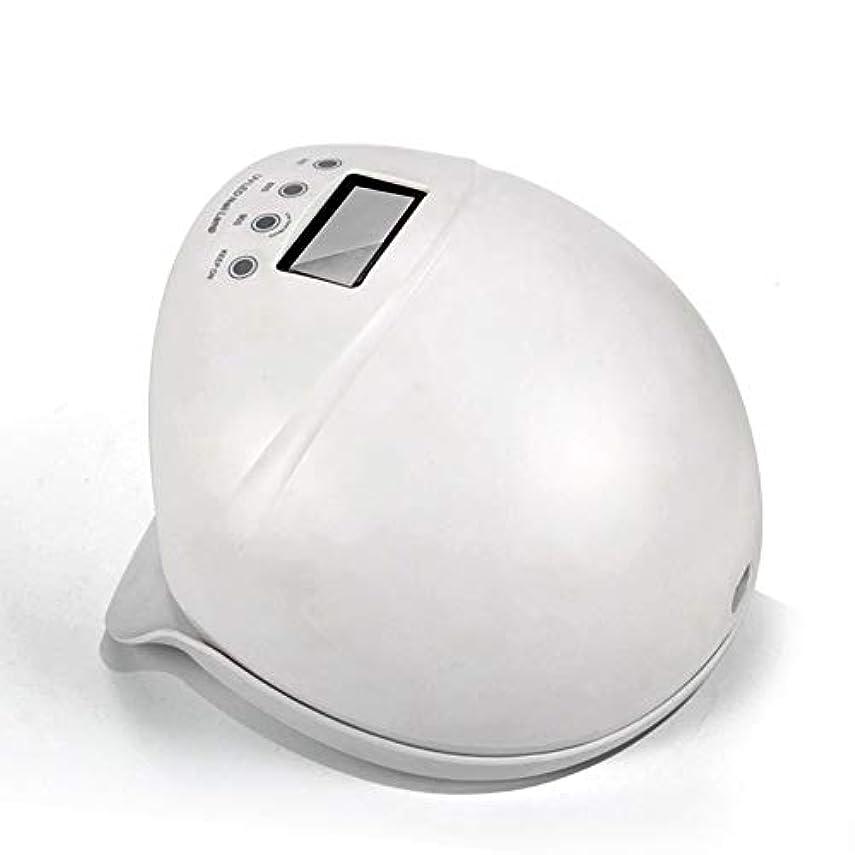 ネイルライト50ワットuv ledネイルドライヤー無痛硬化ランプ付き自動誘導ledディスプレイ3タイマーセットネイルとtoenailジェルポリッシュ