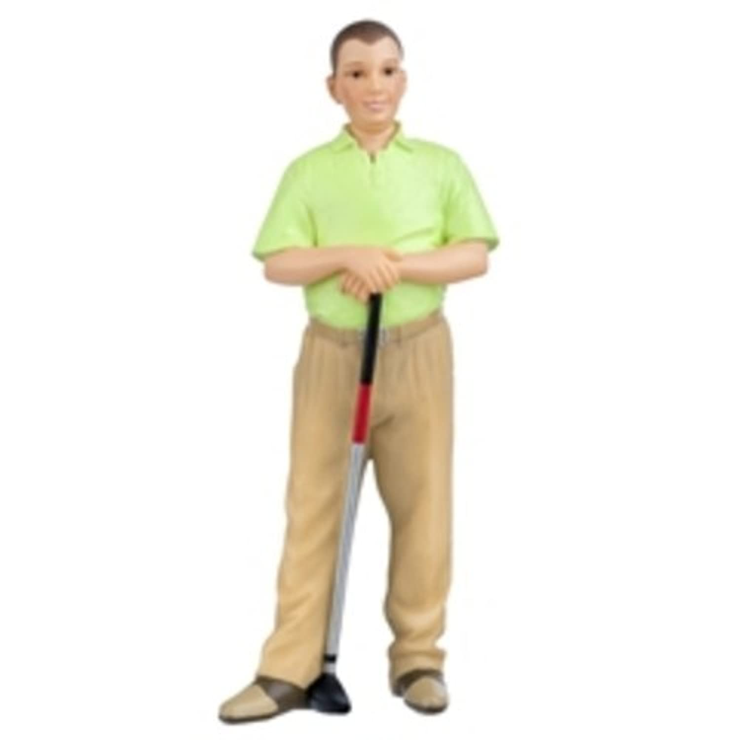 Dollhouse Miniature Doll Ted Golfer by