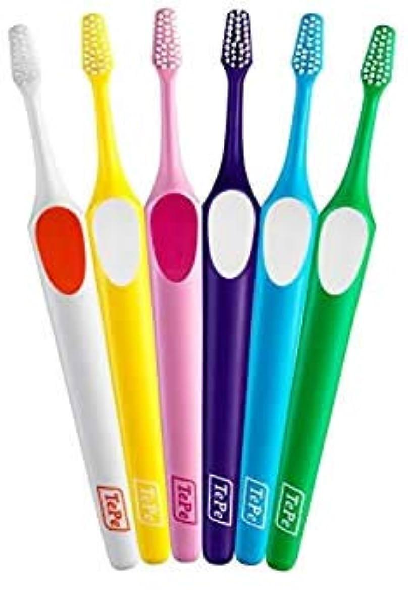 勤勉な電話クロニクルTePe テペ 歯ブラシ スプリーム 20本入