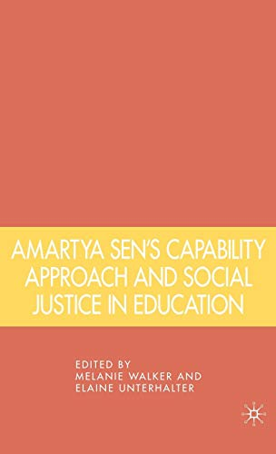 Download Amartya Sen's Capability Approach and Social Justice in Education 1403975043