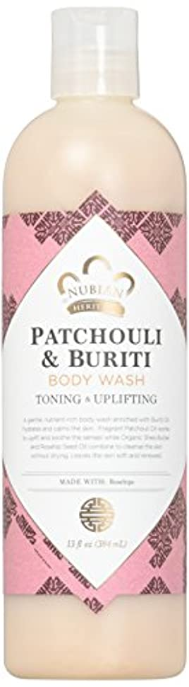 引く機転振動するPatchouli & Buriti Body Wash