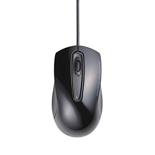 【2012年モデル】ELECOM BlueLEDマウス 有線 ...