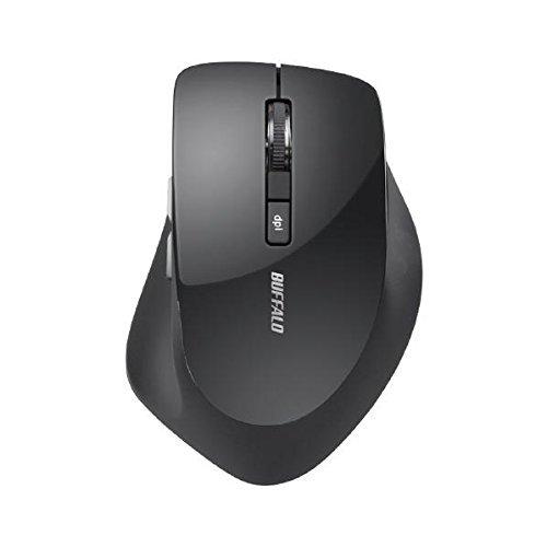 バッファロー 2.4Ghzワイヤレスマウス BlueLED光...