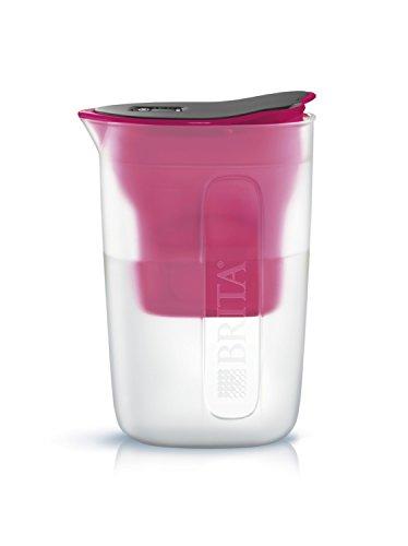 ブリタ 浄水 ポット 1.0L ファン ピンク マクストラプラス カートリッジ 1個付き 【日本仕様・日本正規品】